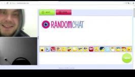 Random girl ''surprise''  - Video pranks on Randomchat.com